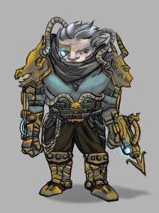 Character Concept Art_ Ai Zhang