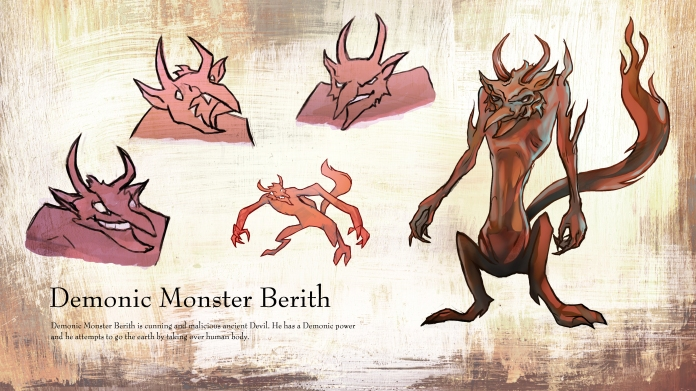 Demonic Monster Berith